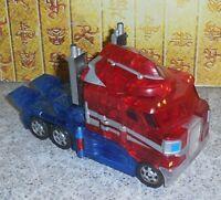 Transformers Henkei CLEAR CONVOY OPTIMUS PRIME Complete Classics C-01
