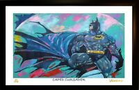 BATMAN L.E. 43/199 ART PRINT ARTWORK SIGNED BY ARTIST, WINFORD