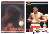 1991 Ringlords Boxing Factory Sealed 40 Card Set with the GREATEST Muhammad Ali