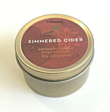 THYMES Simmered Cider Travel Tin Candle 2.5oz **NEW**