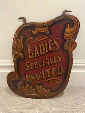 More details for vintage fairground sign