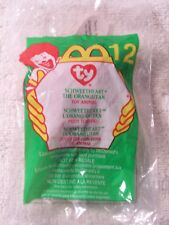 "2000 McDonald's Ty Teenie Beanie Baby ""Schweetheart"" the Orangutan Unopened"