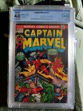 Captain Marvel #27 CBCS 4.0 Thanos, Super-Skrull,