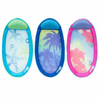 Swimways Spring Float Graphic Print Swimming Pool Lounger - colours vary 6045230