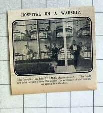 1915 The Hospital On Board Hms Agamemnon, Showing Bunk Beds
