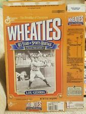 Lou Gehrig 1993 Wheaties Box 60th Anniversary