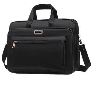 Men Laptop Bag Waterproof Large Travel Business Briefcase Messenger Shoulder Bag