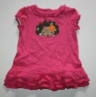 New Crazy 8 by Gymboree Hedgehog Sweetie Knit Dress Size 18-24 Months NWT Ruffle
