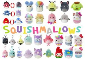 Squishmallows Genuine Kellytoy Soft Plush 90+ types and sizes! FREE AUS SHIPPING