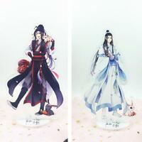 2pcs Anime Mo Dao Zu Shi Lan WangJi Wei WuXian Acrylic Stand Figure Model 16cm