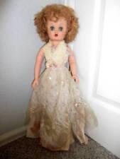 """Eegee ~ Vintage Vinyl/Hp 1950's Bride Doll 24"""" with Sleep Eyes"""