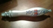 "Michelob Lite Classic Silver 12"" Beer Tap Handle Bar Keg Vintage"
