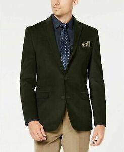 Bar III Slim-Fit Stretch Brown Corduroy Sport Coat Mens 38S 38 $295