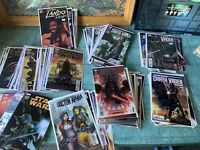 Huge Lot Of Modern Marvel Star Wars And Darth Vader Comics 96 Books Total