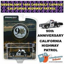 GREENLIGHT 1989 CHEVROLET CAPRICE HIGHWAY PATROL CALIFORNI 90 Anniversary 28020