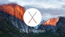 MAC OS X-EL CAPITAN - 10.11 - download entro 2 - 30 minuti