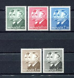 S12613) Monaco MNH 1981 , Definitives 5v