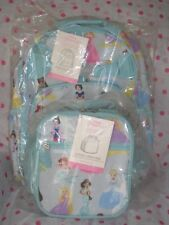 NEW Pottery Barn Kids LARGE Disney Princess Backpack CLASSIC LUNCH BAG
