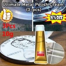 3Pcs Ultimate Metal Polish Cream 10g New