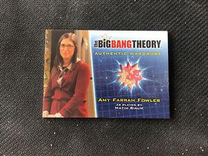 2013 THE BIG BANG THEORY SEASON 5 AMY FARRAH FOWLER AUTHENTIC WARDROBE #M-7
