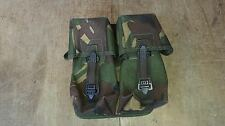 BRITISH PLCE DPM DOUBLE AMMO POUCH - ISSUED GEAR - FREE UK POST