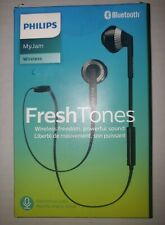 Philips SHB5250BK Wireless Bluetooth Earphones with Microphone, Volume Control,
