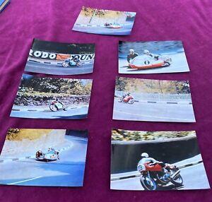 Set of 7 1969 IOM TT   Colour Photos