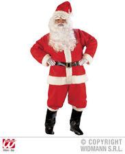 Widmann 1546s - Costume da Babbo Natale con Giacca Pantaloni Cintura Cappello