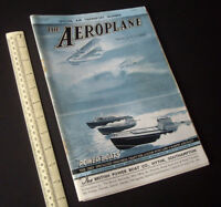 The Aeroplane Aviation Magazine Special Air Transport Number Vintage 1936