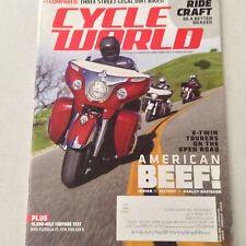 Cycle World Magazine BMW R1200GSA Ktm 1190 ADV R April 2015 061517nonrh
