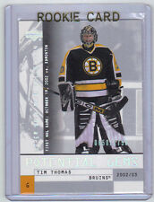 02-03 UD Upper Deck Mask Collection Tim Thomas Rookie Card RC #143 Mint /1750