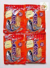 4 TARO Thai NO FAT Delicious Fish Snack BBQ Flavour Non Fat Good Health 30 g.