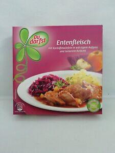 (1000g=9,73€) Du Darfst Entenfleisch mit Rotkohl & Kartoffeln - Ente - 400 Gramm