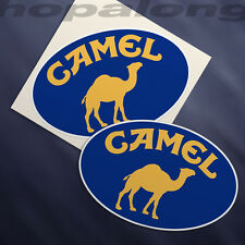 Classic 'Camel' Sticker Decals (x2)