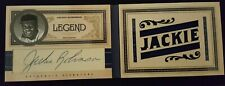2011 Playoff Prime Cuts Jackie Robinson Cut Autograph Booklet Patch Jersey 1/1