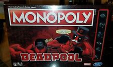 NEW - SEALED - Marvel DEADPOOL Monopoly Collector's Edition Hasbro Board Game