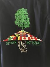 Lifted Research Group Jacket 3XL Grown Not Made Tree Nature Scene Rasta LRG Coat