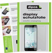 6x HTC U Play Pellicola Protettiva Protezione Schermo Antiriflesso dipos