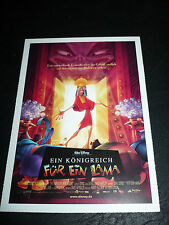 THE EMPEROR'S NEW GROOVE, film card [animation]