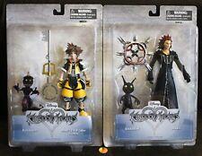 Disney Kingdom Hearts Figures: Master Form SORA & Soldier + AXEL & Shadow