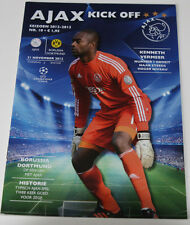 Old Programme CL Ajax Amsterdam BVB Borussia Dortmund 2012 Holland Germany