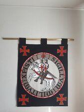 Sceau des Templiers entièrement doublé medievale