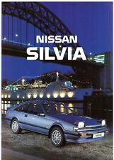 Nissan Silvia 1.8 Turbo ZX 1988-89 UK Market Sales Brochure