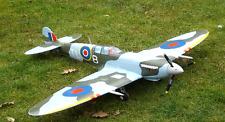 Dynam Supermarine Spitfire Blue Camo WWII WW2 British RC Plane Warbird PNP RAF