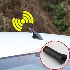 Black Auto Roof Antenna AM FM Radio Signal Aerial Amplifier Screw Mast Accessory