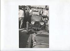 N°7057  / BUGATTI :  photo voiture de course année 70