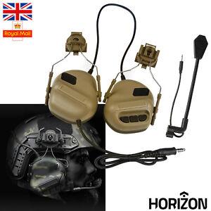 HORIZON Airsoft Hunting Tactical Headset Paintball Communication Helmet Headset