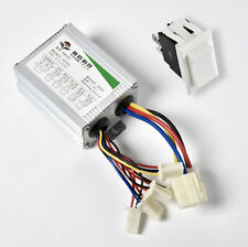 350W 36V DC electric motor Controller box f GoKart w DPDT reversing switch