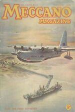 1951 FEBRUARY 33608 Meccano Magazine Cover Picture  OVER THE ESSO REFINERY