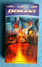 DESCENT VHS Tape 2005 Action Disaster Luke Perry Rick Roberts Michael Dorn